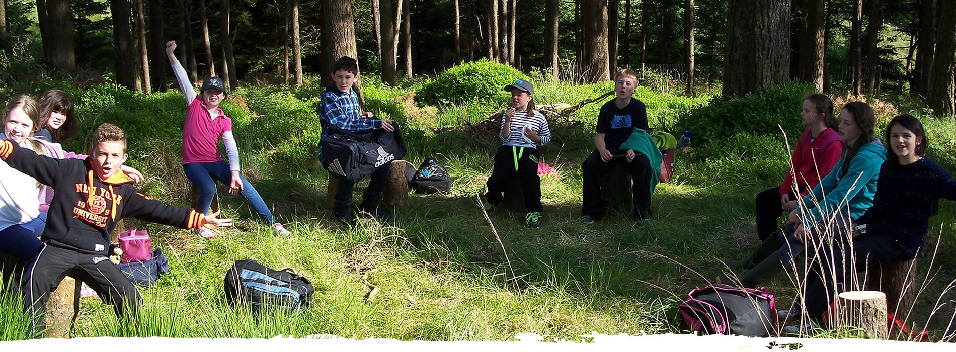 Forest School Summer Camp Wicklow