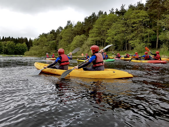kayaking wicklow